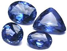 Ceylon Cornflower Blue Sapphire gemstone