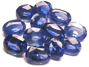 Ceylon Blue cornflower Saphire gemstone