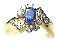 Sri Lanka Sapphire gemstone Ring