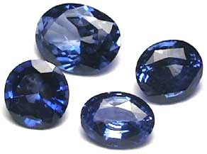 Ceylon Loose Blue Sapphire Gem Stones