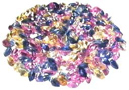 rainbow sapphires gem stones