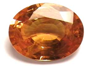 yellow sapphire gem stone